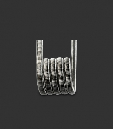 Fused Clapton Ni80 28GA*2+38GA 0.50Ω (10pcs)