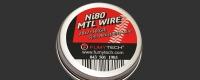 Ni80 MTL Wire ( Fused Clapton 2*28Ga + 38Ga 5m)